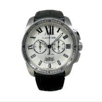 Cartier Calibre de Cartier Chronograph Acier Blanc