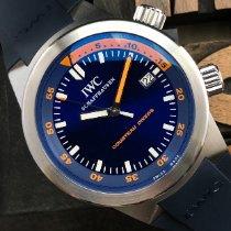 IWC Aquatimer Automatic Stahl 42mm Blau Keine Ziffern