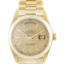 Rolex Day-Date 36 pre-owned 36mm Gold Date Weekday Yellow gold