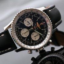 Breitling Navitimer 01 occasion 43mm Noir Chronographe Date Cuir