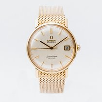 Omega De Ville Yellow gold 34mm Champagne