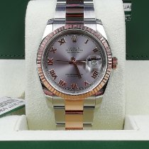 Rolex new Automatic 36mm Gold/Steel Sapphire crystal