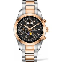 Longines Conquest Classic Gold/Steel Black United States of America, New York, New York