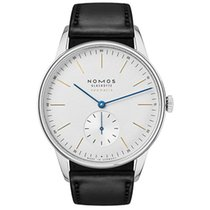 NOMOS Steel 38.5mm Automatic 340 new