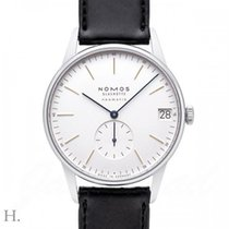NOMOS Orion Neomatik Steel 40.5mm White