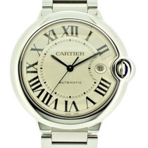 Cartier 3001 Steel 2011 Ballon Bleu 42mm pre-owned