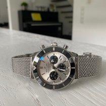 Breitling Superocean Héritage II Chronographe Zeljezo 44mm Srebro
