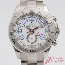 Rolex Yacht-Master II 116689 Very good White gold Automatic