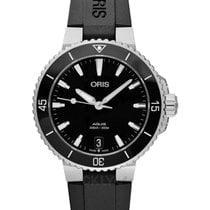 Oris Steel Automatic Black 36.5mm new Aquis Date