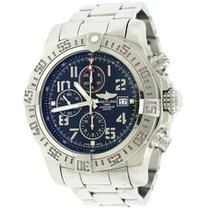 Breitling Super Avenger II Steel 48mm Black Arabic numerals United States of America, New York, New York