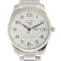 Longines Master Collection Steel 42mm Silver