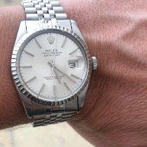 Rolex Datejust Acier 36mm Argent Sans chiffres France, Beausoleil