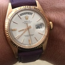 Rolex Or rose Remontage automatique Nacre Sans chiffres 36mm occasion Day-Date 36