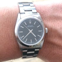 Rolex Oyster Perpetual 31 Steel 31mm Black Arabic numerals
