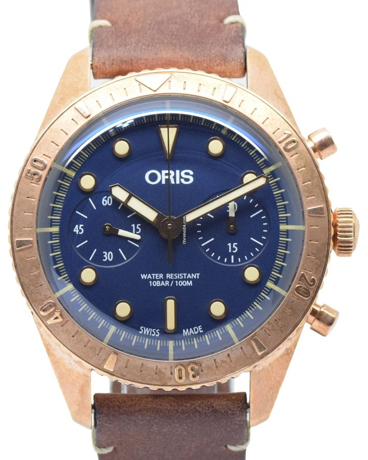 Oris Carl Brashear 01 771 7744 3185-Set LS 2019 pre-owned