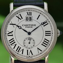 Cartier Or blanc 42mm Remontage manuel W1550751 occasion