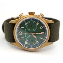 Montblanc 1858 Bronze 42mm Green Arabic numerals United States of America, Florida, Aventura