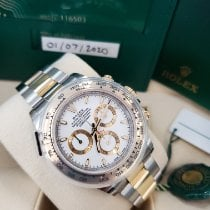 Rolex Daytona Gold/Steel 40mm White No numerals United States of America, New Jersey, Totowa