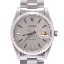 Rolex Oyster Precision Staal 33mm Zilver