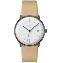 Junghans max bill Automatic 38mm Blanc France, Paris
