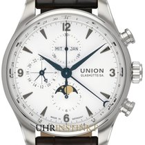 Union Glashütte Belisar Chronograph Steel 44mm White