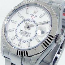 Rolex Sky-Dweller Acier 42mm Blanc