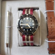 Oris Divers Sixty Five Stahl 40mm Schwarz