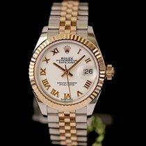 Rolex Lady-Datejust Gold/Stahl 28mm Weiß Deutschland, Rosenheim