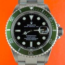 Rolex Submariner Date Stahl 40mm Schwarz Keine Ziffern