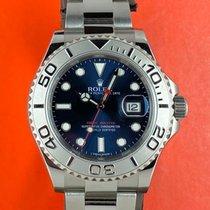 Rolex Yacht-Master 40 Steel 40mm Blue No numerals