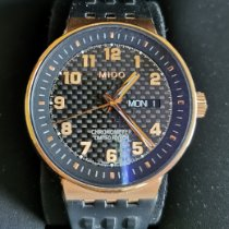 Mido All Dial Gold/Steel 40mm Arabic numerals