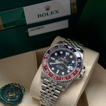 Rolex GMT-Master II Steel 40mm Black No numerals United Kingdom, Wilmslow Cheshire