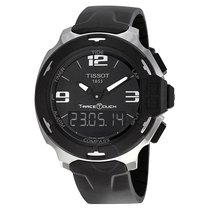 Tissot T-Race Touch Steel 42.2mm Black No numerals United States of America, New York, New York