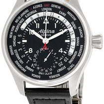 Alpina Startimer Pilot Manufacture Steel Black United States of America, New York, New York