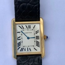 Cartier Tank Solo Gold/Steel 27mm White Roman numerals United States of America, Florida, Palm Beach