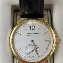A. Lange & Söhne Langematik Yellow gold White No numerals United States of America, Florida, Palm Beach