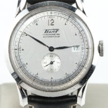 Tissot Heritage pre-owned 40mm Silver Date Leather