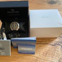 Seiko Steel Automatic Black No numerals 45mm pre-owned Prospex