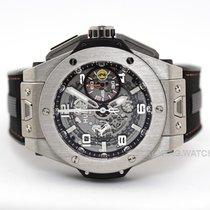 Hublot Big Bang Ferrari pre-owned 45mm Transparent Chronograph Date