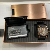 Romain Jerome Titanic-DNA Acero y oro 50mm Negro