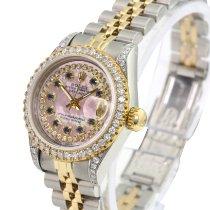 Rolex Lady-Datejust Gold/Steel 26mm Pink No numerals
