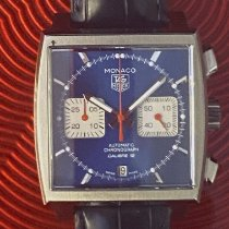 TAG Heuer Monaco Calibre 12 Steel 39mm Blue No numerals United States of America, California, Upland