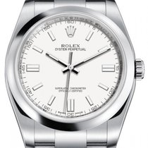 Rolex Oyster Perpetual 36 Steel 36mm Champagne Arabic numerals United States of America, New York, New York