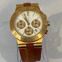 Bulgari Ouro amarelo 35mm Quartzo CH 35 G usado
