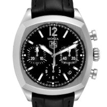 TAG Heuer Monza Steel 37mm Black United States of America, Georgia, Atlanta