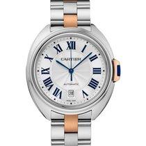 Cartier Clé de Cartier новые Автоподзавод Часы с оригинальными документами и коробкой W2CL0002