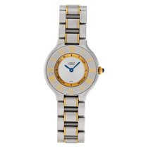 Cartier 21 Must de Cartier Steel 28mm White No numerals United States of America, Florida, Surfside