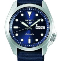 Seiko 5 Sports Steel 40mm Blue