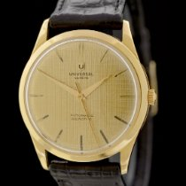 Universal Genève Microtor Yellow gold 34.5mm Gold No numerals