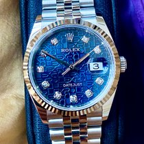 Rolex Datejust Steel 36mm Blue No numerals Malaysia, Kulai